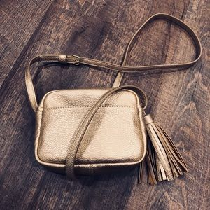 Gap Gold Crossbody with Tassel